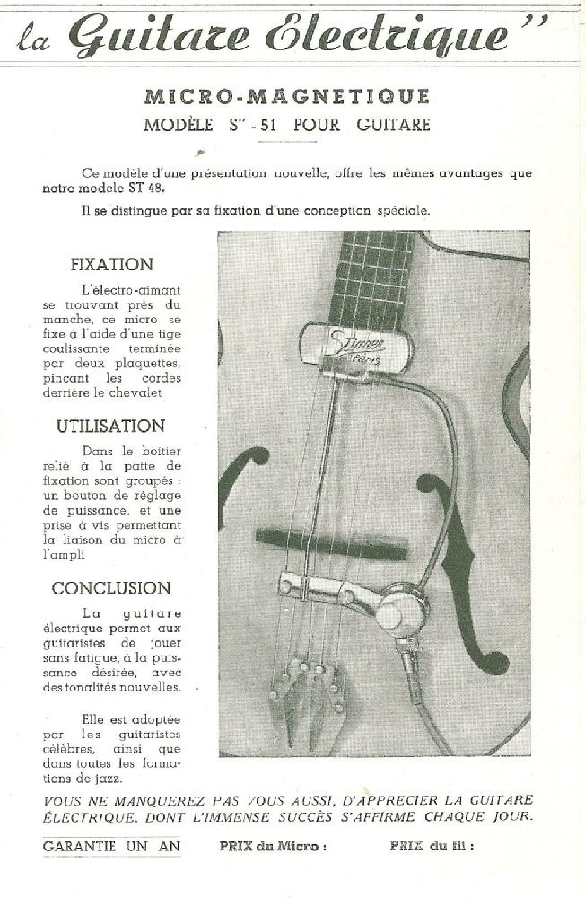 vis micro guitare